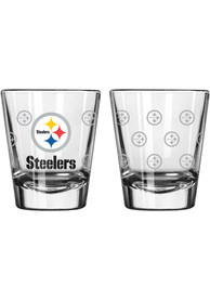 Pittsburgh Steelers 2oz Satin Etch Shot Glass