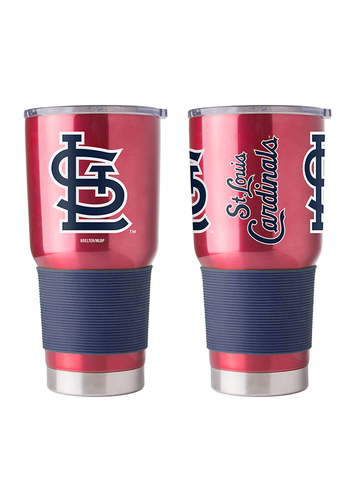 St Louis Cardinals 30oz Ultra Stainless Steel Tumbler - Red - Image 1