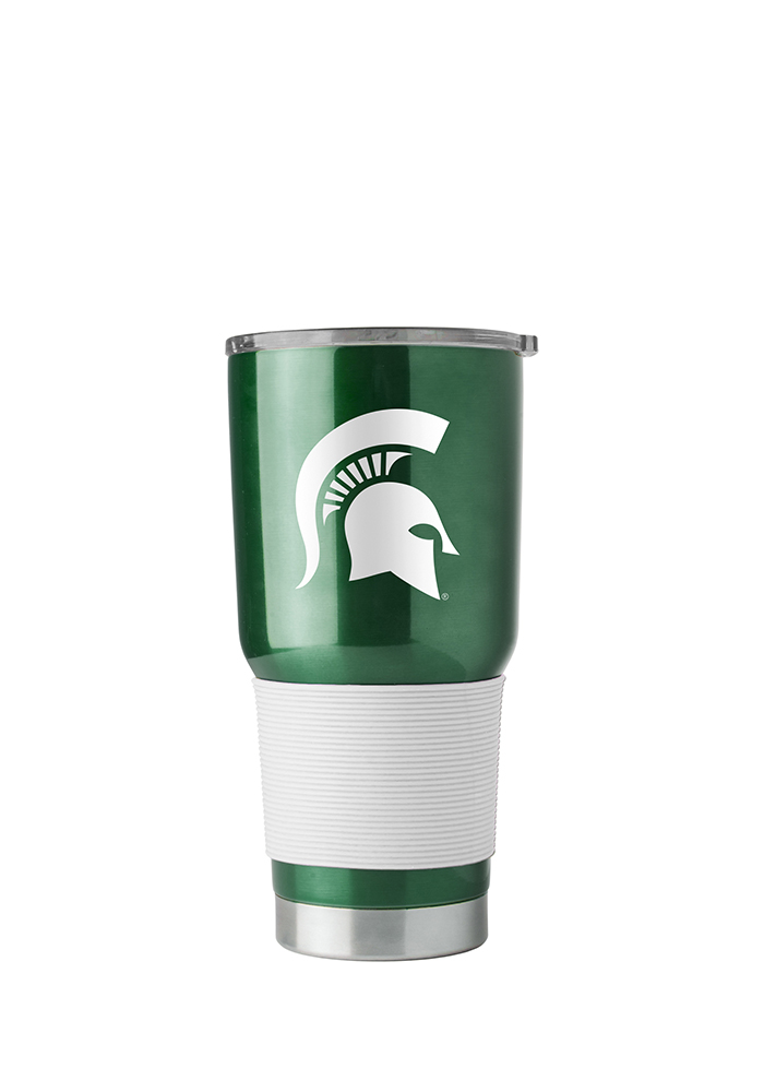 Michigan State Spartans 30oz Ultra Stainless Steel Tumbler - Green - Image 1