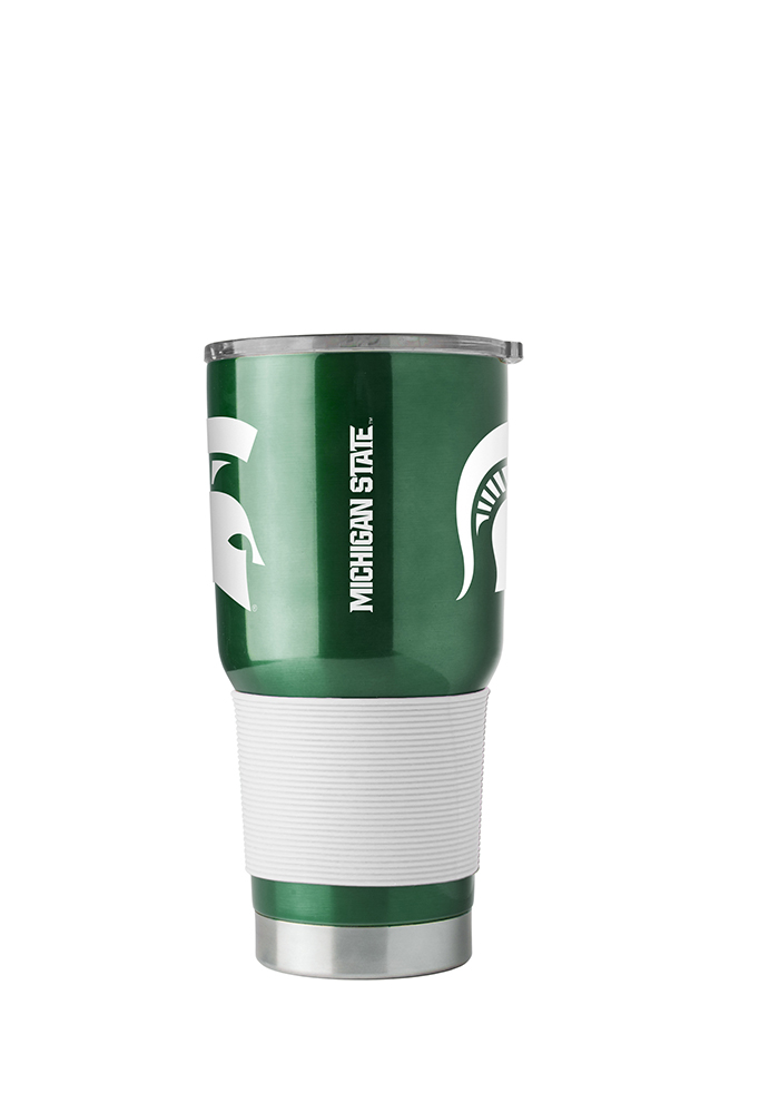 Michigan State Spartans 30oz Ultra Stainless Steel Tumbler - Green - Image 2