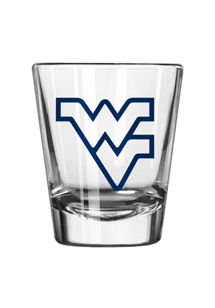 West Virginia Mountaineers 2oz Game Day Shot Glass - Image 1