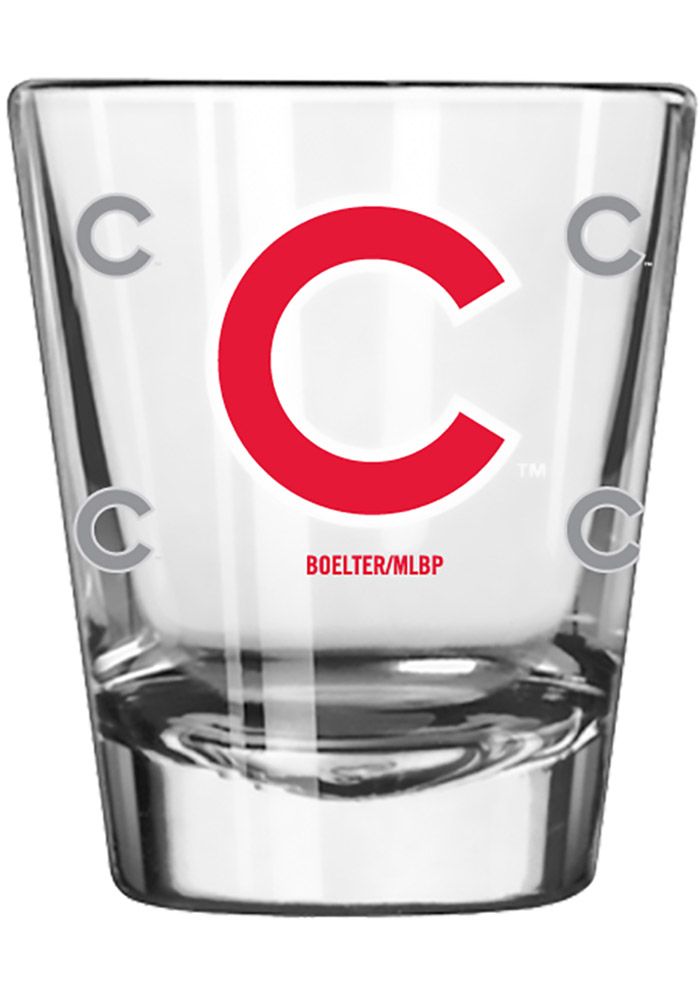 Chicago Cubs 2oz Clear Shot Glass 10161282
