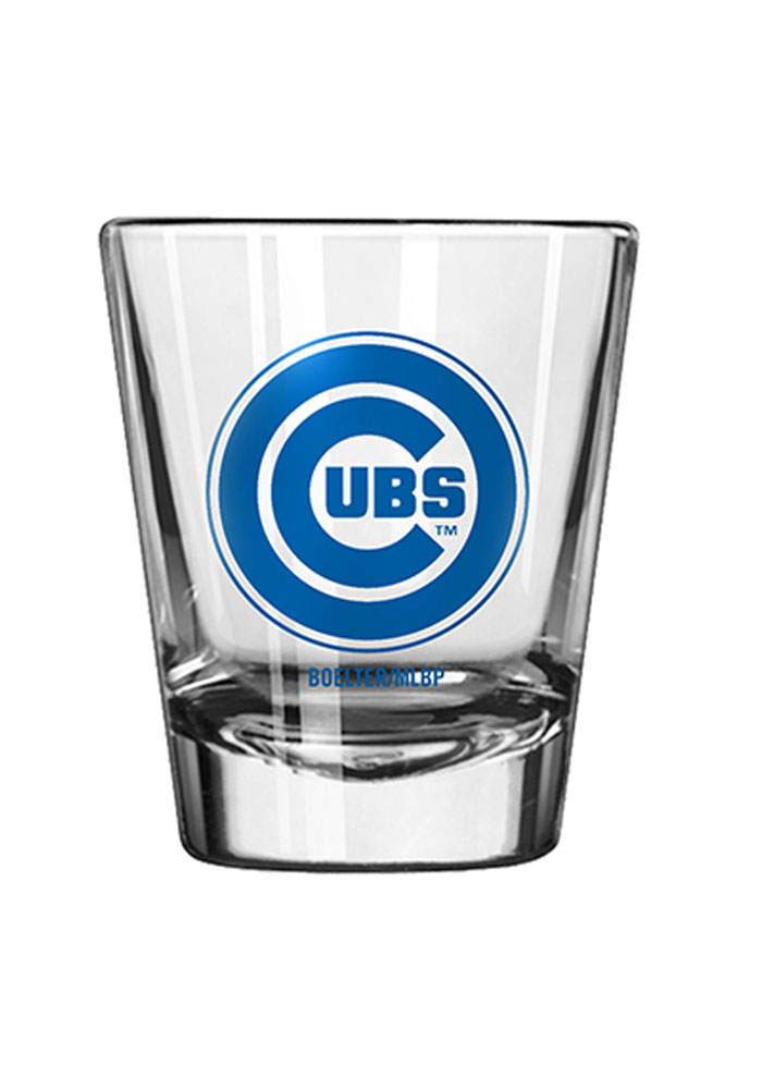 Chicago Cubs 2oz Game Day Shot Glass - Image 1