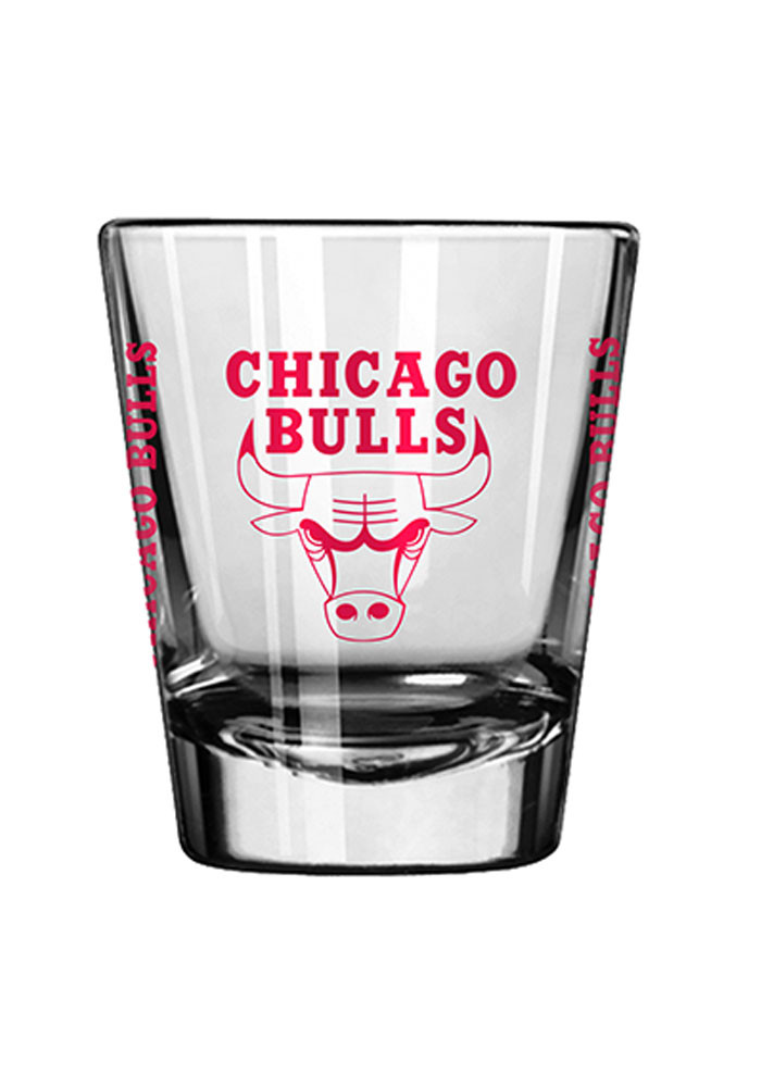 Chicago Bulls 2oz Game Day Shot Glass - Image 1