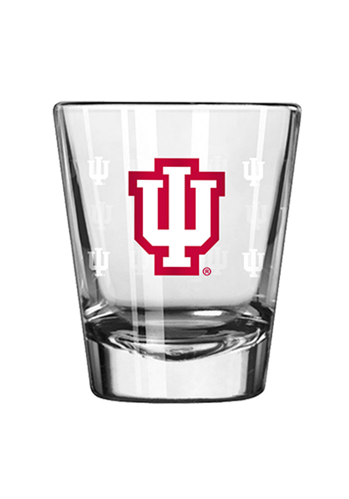 Indiana Hoosiers 2oz Satin Etch Shot Glass - Image 1