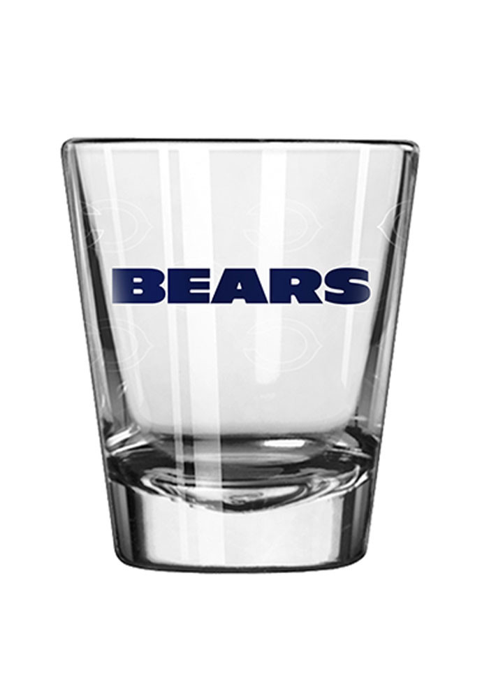 Chicago Bears 2oz Satin Etch Shot Glass - Image 1