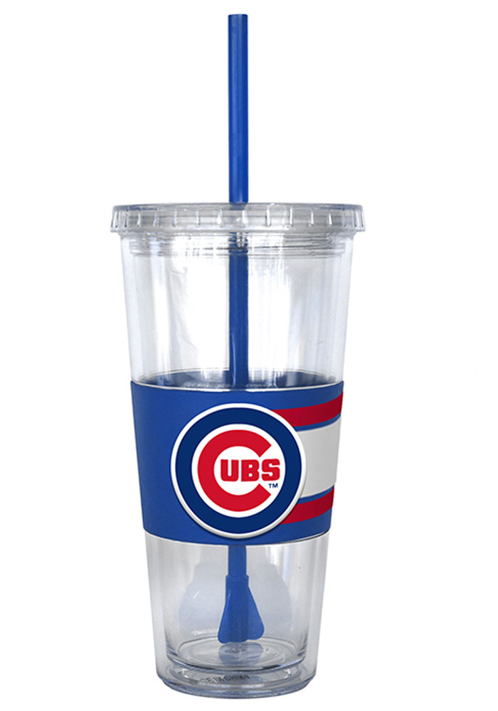 Chicago Cubs 22oz 3D Hype Straw Tumbler - Image 1