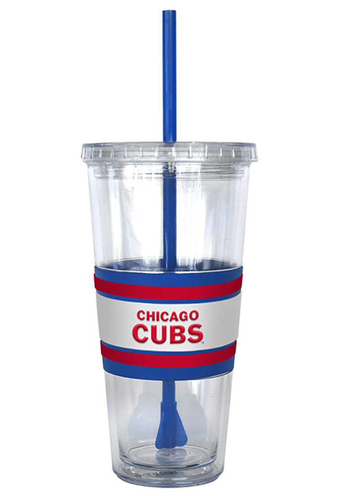 Chicago Cubs 22oz 3D Hype Straw Tumbler - Image 2
