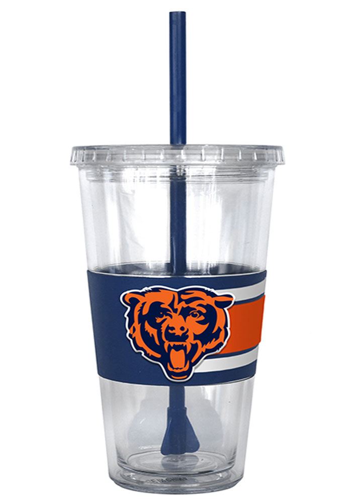 Chicago Bears 22oz 3D Hype Straw Tumbler - Image 2