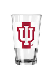Indiana Hoosiers Striped Pint Glass