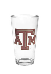 Texas A&M Aggies Primary Logo Pint Glass