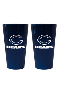 Chicago Bears Lusterware Pint Glass