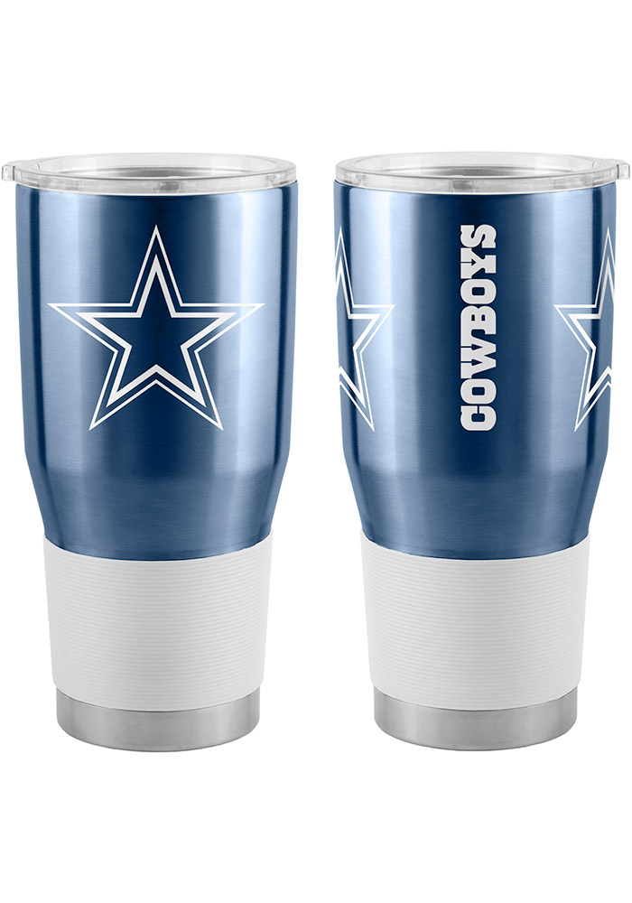 Dallas Cowboys 30oz Ultra Stainless Steel Tumbler - Navy Blue - Image 1