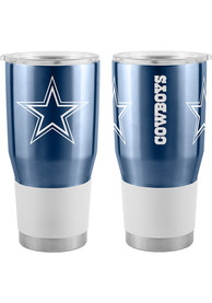 Dallas Cowboys 30oz Ultra Stainless Steel Tumbler - Navy Blue