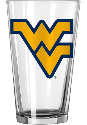 West Virginia Mountaineers Primary Logo Pint Glass