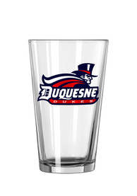 Duquesne Dukes Primary Logo Pint Glass