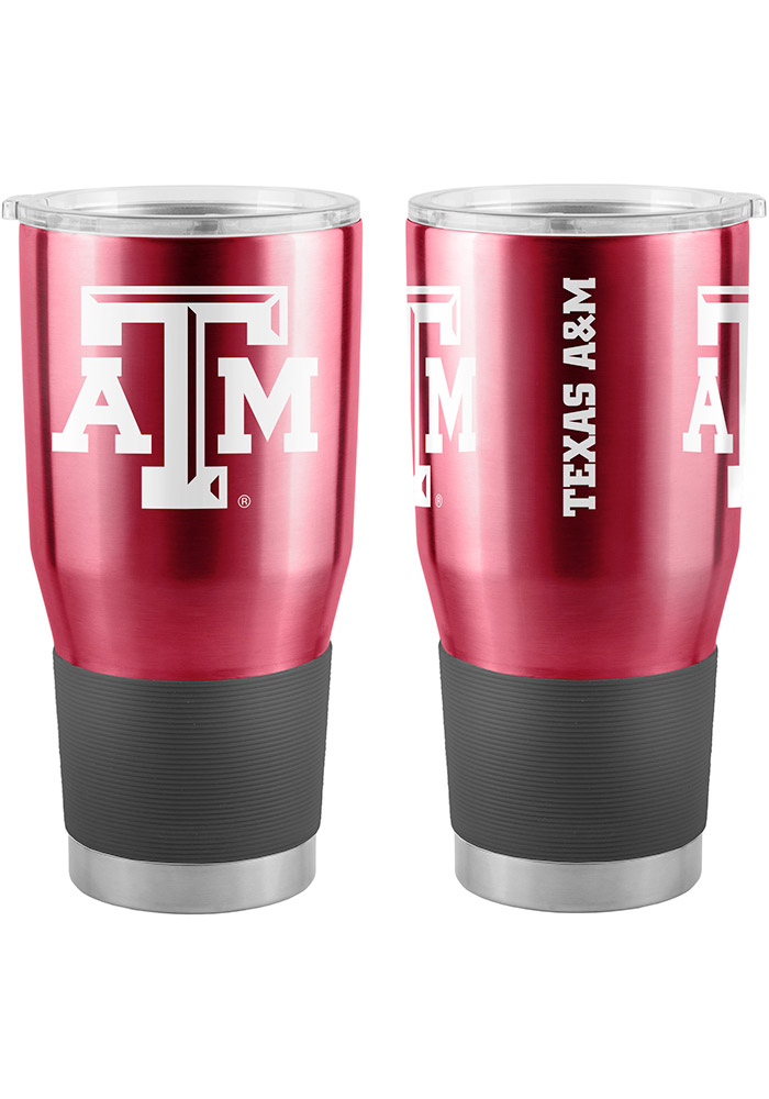 Texas A&M Aggies 30oz Ultra Stainless Steel Tumbler - Maroon - Image 1