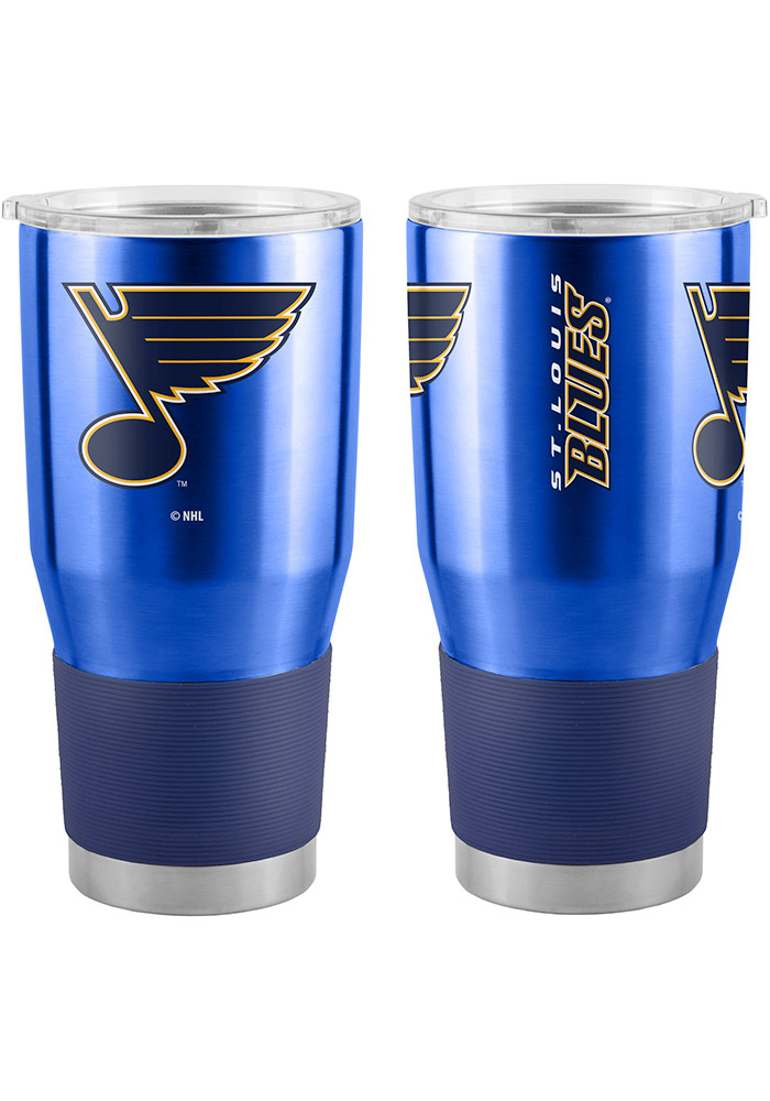 St Louis Blues 30oz Ultra Blue Stainless Steel Tumbler - Image 1