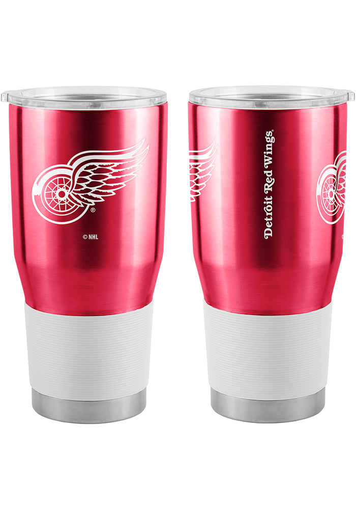 Detroit Red Wings 30oz Ultra Stainless Steel Tumbler - Silver - Image 1