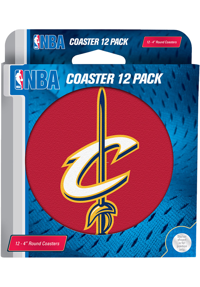 Cleveland Cavaliers 12-Pack Coaster - Image 1