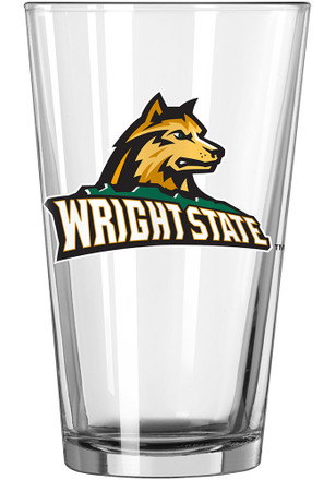 Wright State Raiders Primary Logo Pint Glass