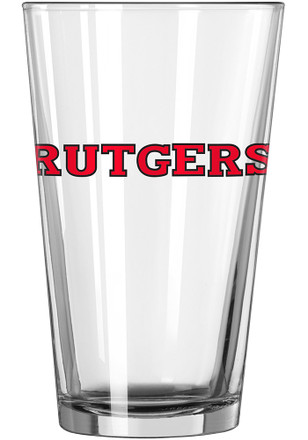 Rutgers Scarlet Knights Logo Value Pint Glass