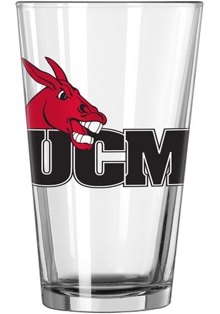 Central Missouri Mules Logo Value Pint Glass