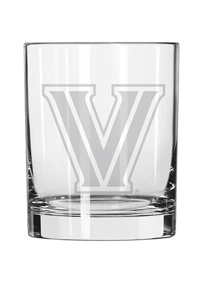 Villanova Wildcats 16oz Rock Glass - Image 1