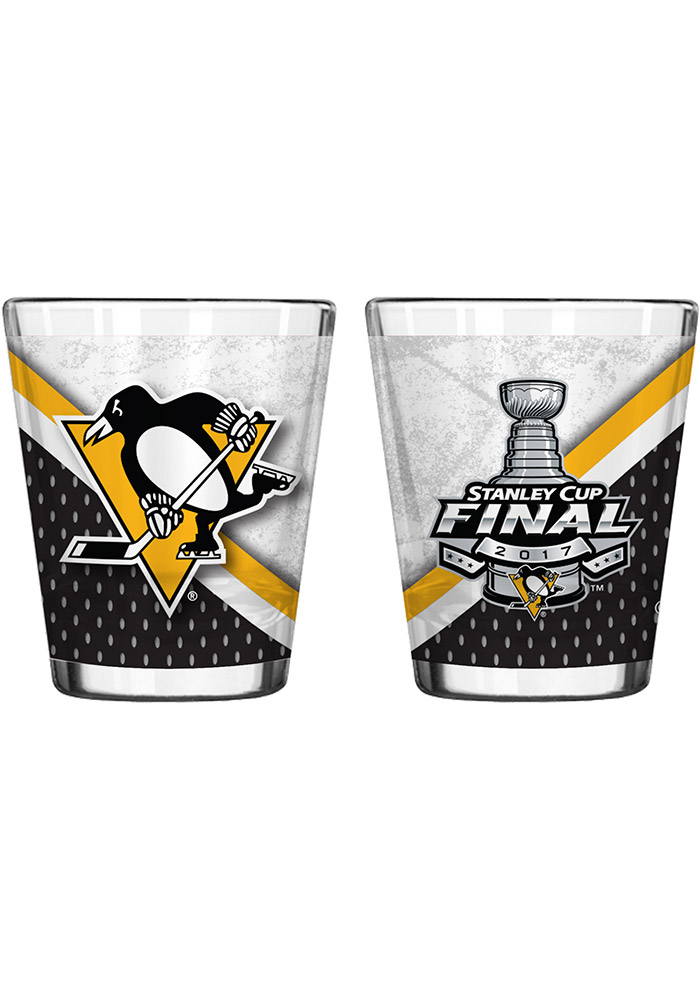 Pittsburgh Penguins 2017 Stanley Cup Finals Shot Glass 10161715