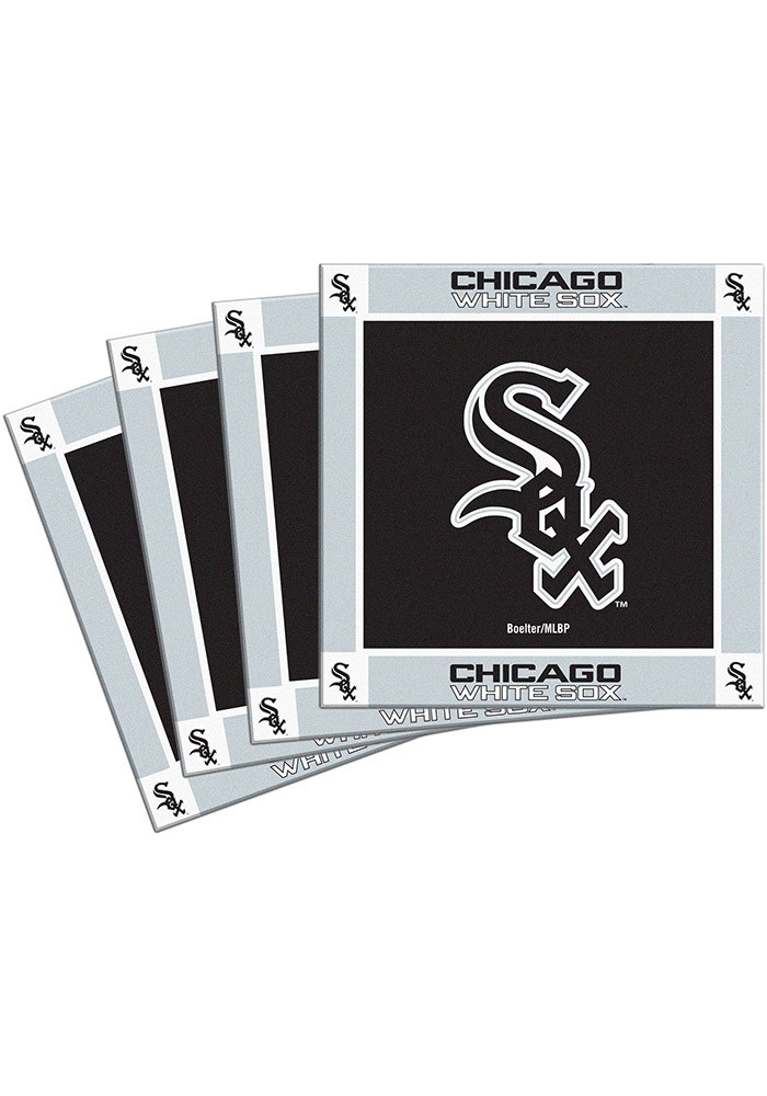 Chicago White Sox 4 Pack Ceramic Coaster