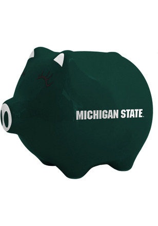 Michigan State Spartans Team Logo Piggy Bank