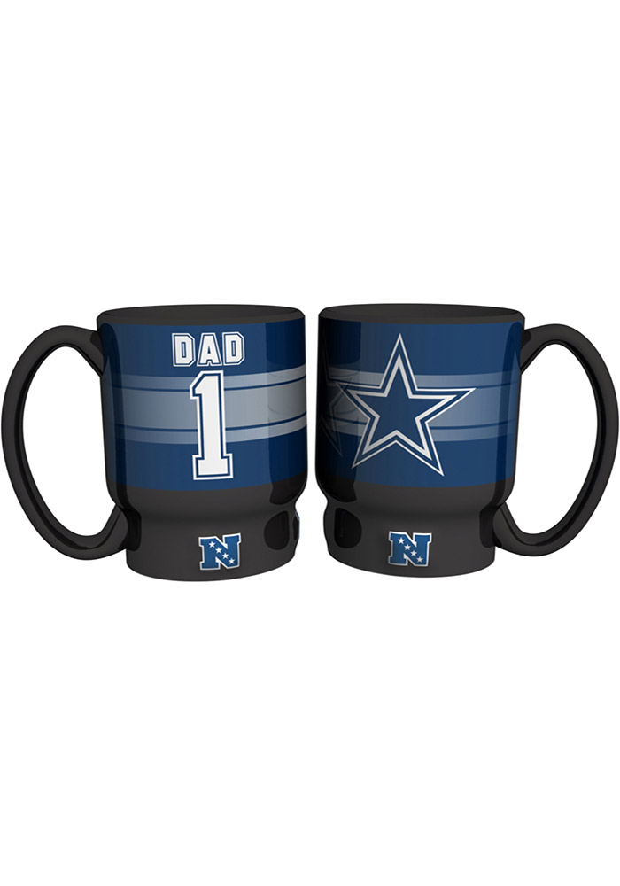 Dallas Cowboys #1 Dad Mug - Image 1