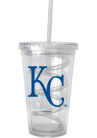 Kansas City Royals 16oz Swirl Straw Tumbler