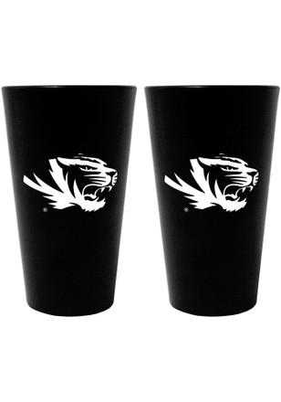 Missouri Tigers 16oz Team Color Frosted Pint Glass
