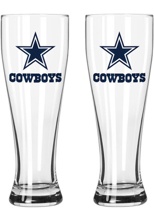 Dallas Cowboys 23oz Frosted Pilsner Glass