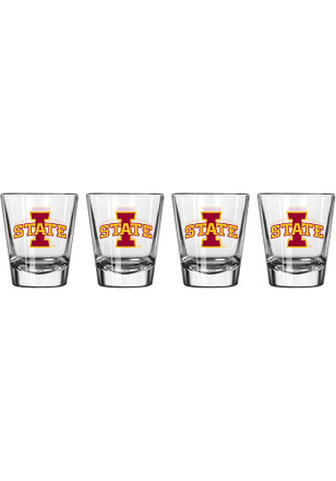Iowa State Cyclones 1.5oz Team Logo Shot Glass