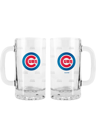 Chicago Cubs 16oz Etched Stein