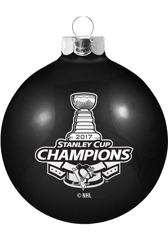 Pittsburgh Penguins 2017 Stanley Cup Champions Ornament - Image 1