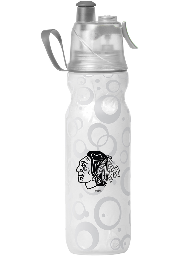 Chicago Blackhawks Mist n' Sip 20oz Water Bottle - Image 1
