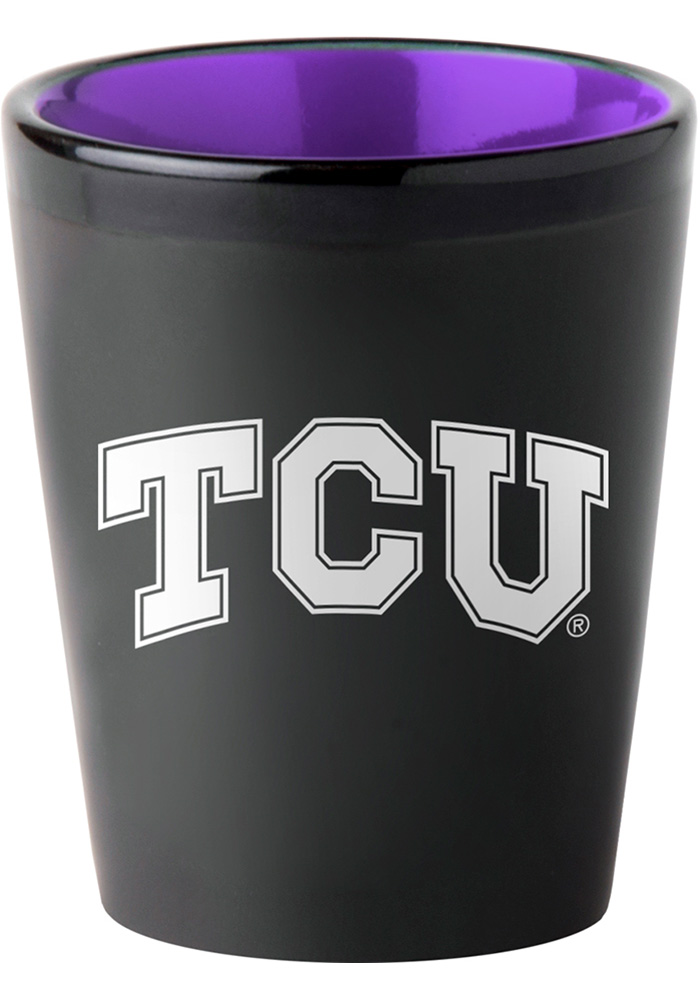 TCU Horned Frogs 2oz Matte Shot Glass - Image 1