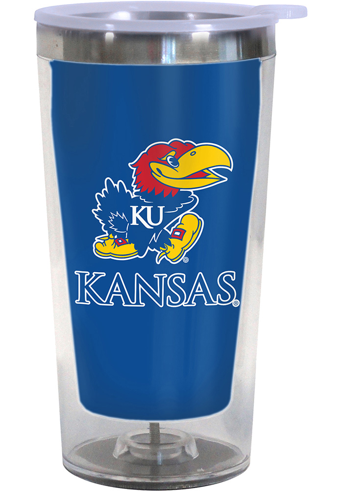Kansas Jayhawks Color Changing 16oz Travel Mug