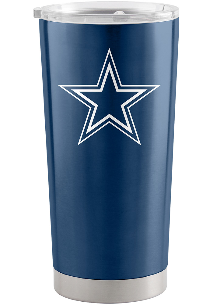 Dallas Cowboys 20oz Ultra Stainless Steel Tumbler - Navy Blue - Image 1