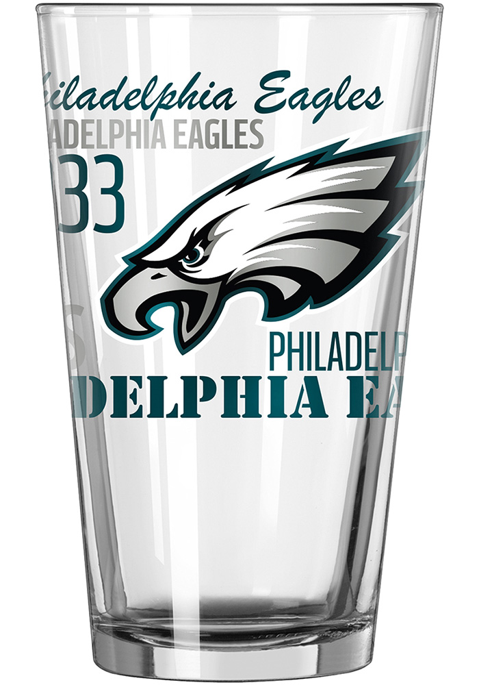 Philadelphia Eagles 16oz Gameday Pint Glass - Image 1
