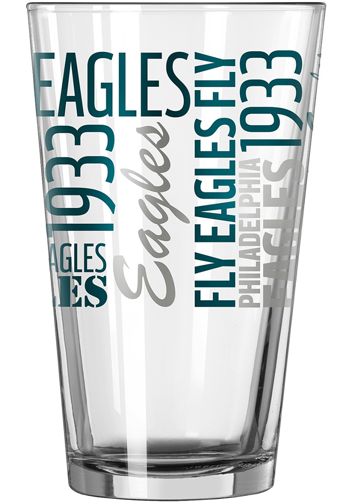 Philadelphia Eagles 16oz Gameday Pint Glass - Image 2