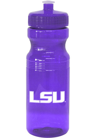 LSU Tigers 24oz Squeeze Water Bottle