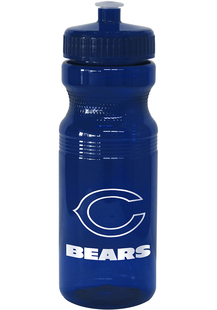 Chicago Bears 24oz Squeeze Water Bottle - Image 1