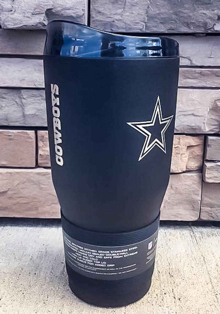 Dallas Cowboys Powder Coated 30oz Ultra Stainless Steel Tumbler - Blue - Image 2