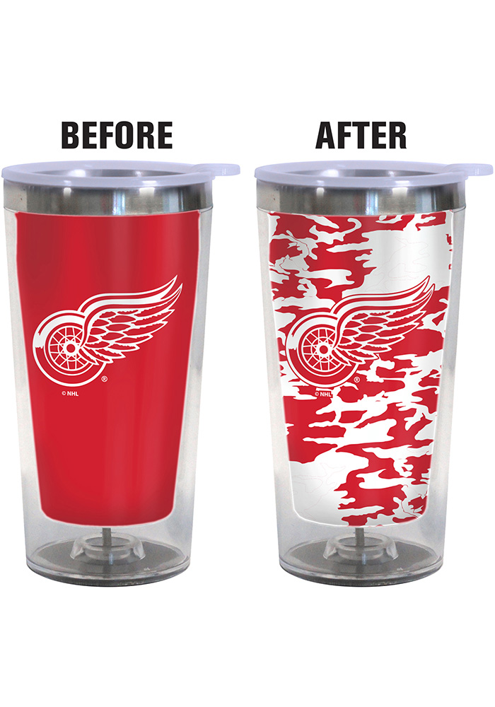 Detroit Red Wings Color Changing 16oz Travel Mug - Image 2