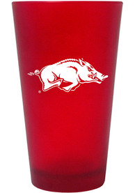 Arkansas Razorbacks 16oz Colored Pint Glass