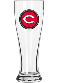 Cincinnati Reds 2 Pack 16oz team logo Pilsner Glass